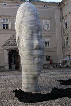 Salzburg Art Project  2010, Awilda by Jaume Plensa