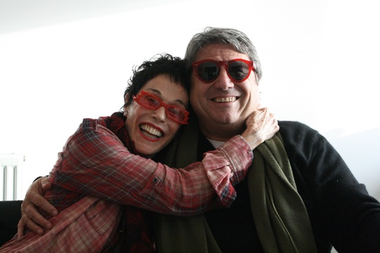 Susan Scherman and Adriano Berengo
