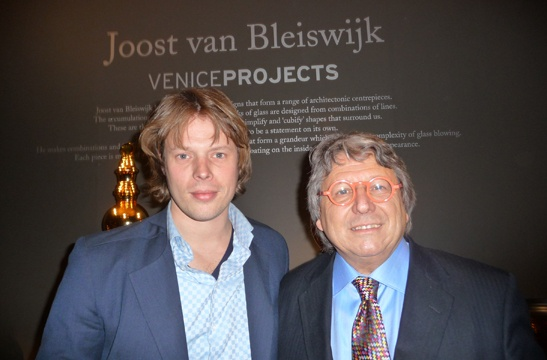 Joost van Bleiswijk and Adriano Berengo at Sotheby's London